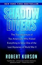 Shadow Divers paperback book by Robert Kurson FREE SHIPPING wwii sunken ships