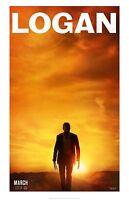 "Logan movie poster (d) : 11"" x 17"" : Hugh Jackman, Wolverine poster, X-Men"