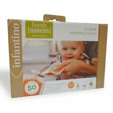 Infantino - 30 Pouches Squeezy and 3 Pouches