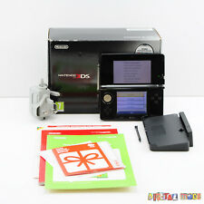 Nintendo 3DS Original Console Cosmos Black - Boxed - TESTED - 3DS 2DS 02