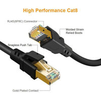 2021 Ethernet Cable CAT 8 10m Ultra High Speed RJ45 40Gbps 2000MHz SFTP PREMIUM