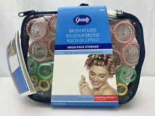 2005 Goody Products ~ Brush Rollers ~ 36 Curlers ~ # 82067 ~ Mega Pack Storage