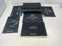 2012 Hyundai Genesis Owners Manual Handbook Set with Case OEM Z0A1604