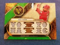 JOEY VOTTO 2017 TOPPS TRIBUTE CARD TTR-JO2 REDS (10-PIECE JERSEY RELIC) SP #/18