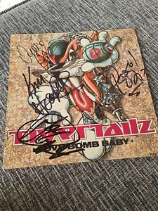 Tigertailz Signed Love Bomb Baby Vinyl Album