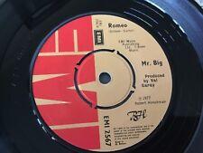Mr. BIG . Classic chart hit  ROMEO . 1977