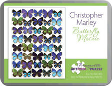 Artist Christopher Marley Butterfly Mosaic Art Puzzle 100 Pieces 8x10 inches New