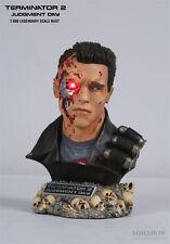 TERMINATOR 2 T-800 Legendary scale bust~Sideshow~Schwarzenegger~statue~NIB