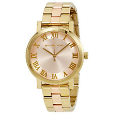 Michael Kors Norie Blush Dial Ladies Watch MK3586