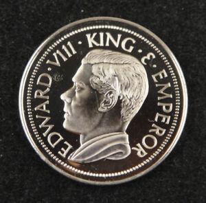 United Kingdom Edward VIII (The Abdicated King) Crown 1936 (1972) UNC, Hong Kong