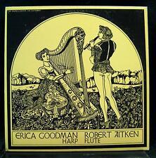 ROBERT AITKEN & ERICA GOODMAN flute & harp recital LP Mint- CBC Radio Canada '71