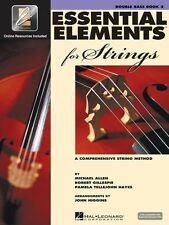 Essential Elements for Strings Book 2 with Eei Double Bass Book Media 000868060