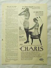 1949 Magazine Ad Page Women's Charis S-P Girdle & Aunt Jemima Apple Pancakes