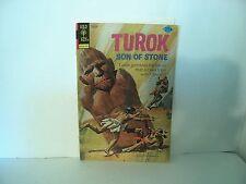 Turok Son of Stone Gold Key #92 Comic book September 1974 Western Publishing
