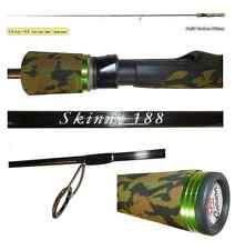 canna spinning skinny 1.88m 0/10g pesca ultra light game trota lago torrente