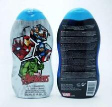** MARVEL AVENGERS 2 IN 1 SHAMPOO & CONDITIONER 350ml NEW ** WASH KIDS