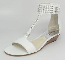 MICHAEL MICHAEL KORS Women's Celena Wedges Optic White Sz 7 M
