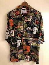 San Francisco Giants authentic Reyn Spooner Hawaiian shirt (size: L)