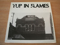 yup in flames various artists 1989 uk wwv label punk compilation vinyl lp ex+