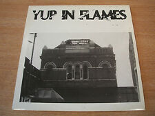 yup in flames various artists 1989 uk wwv label punk compilation vinyl lp ex+