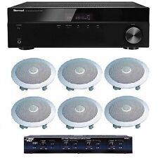 HOME AUDIO WHOLE HOUSE SOUND SYSTEM- CEILING SPEAKERS FOR 3+ ROOMS