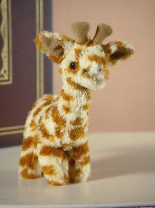 2 x Giraffe 'Geoffrey' Sml Settler Bears Stuffed Plush Animal Gift 15cm