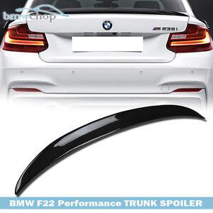 #AU Fit For BMW F22 2-Series P Type Rear Trunk Lip Spoiler Carbon Fiber