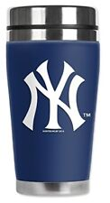 Mugzie New York Yankees Travel Mug with Insulated Wetsuit Cover 16 oz