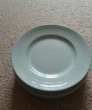 Vintage Woods Ware Green Beryl Salad Plates x 4 23cm