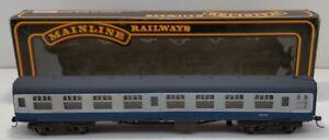 Main Line 37-103 OO Scale BR SK 2nd Class Coach Blue/Grey #M25454 LN/Box