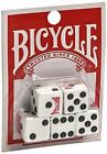 New 5 Regular Dice 15 Die Bicycle Brand Playing Cards Normal 3 PACK Bluk Lot