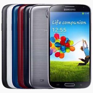 SAMSUNG GALAXY S4 16GB GT-I9505 Black / White Unlocked - Smartphone Mobile Phone