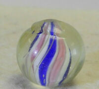 #12271m Vintage German Handmade Swirl Marble Inches .64 Inches