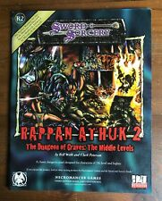 Sword & Sorcery RAPPAN ATHUK 2 The Dungeon of Graves: The Middle Levels d20 R2