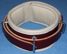 Humane Restraint abschliessbares Lederhalsband 42-52 cm