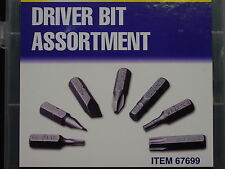 80 Pc Drill Driver Bit Screw Tip Assortment Phillips Torque Torx Hex Slot Drive