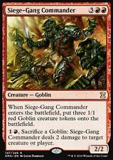 MRM ENGLISH Commandant des assiégeants - Siege-gang Commander MTG magic EMA