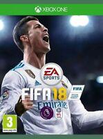 Genuine FIFA 18 Microsoft Xbox One Game Brand New Sealed FAST FREE SHIPMENT