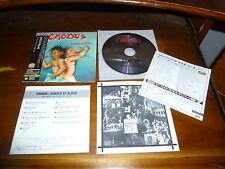Exodus / Bonded by Blood JAPAN+2 MINI LP KICP-91401 1ST PRESS!!!! A8