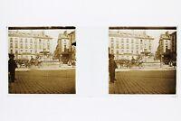 Italia Ville Pisa ? snapshot Foto Placca P45L5n15 Lente Positivo Stereo