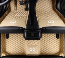 Fit Infiniti Fx35 G37 M35 Q50 Qx30 Qx50 Qx60 Qx56 Qx70 Qx80 Car Floor Mats (Fits: Infiniti)