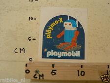 STICKER,DECAL PLAYMOBIL PLAYMO-X