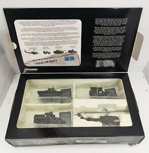 2003 Corgi Fighting Machines 4 Pack Tour of Duty Vietnam Diecast China Scale New