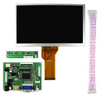 New 8 Inch LCD Display 800x480 + HDMI+VGA+2AV Controller Board for Raspberry Pi