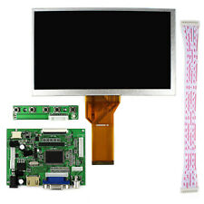 New 8 Inch LCD Display 800x480 + HDMI+VGA+2AV Controller Board for Raspberry Pi