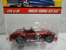 Hot Wheels Classics Series 2 #20 Orange Shelby Cobra 427 S/C