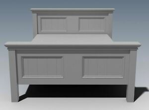 BUILDING PLANS FOR CRAFTON QUEEN SIZE TIMBER BED - MAKE YOUR OWN & SAVE $$$