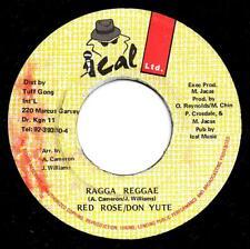 """REDROSE & DON YUTE-ragga reggae   ical ltd 7""""    (hear)    reggae"""