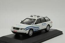 RARE !!! Audi A6 Avant Belgium Police Code3 1/43