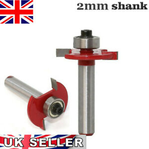 2mm Slot Cutter Bit For Knock On furniture T Trim Router Campervan Motorhome UK